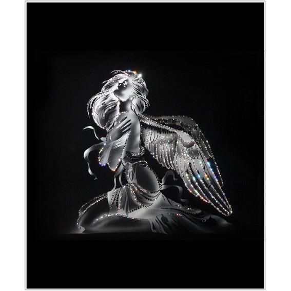 картинки с кристаллами сваровски ангел каменья